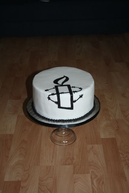 Amnesty International Cake