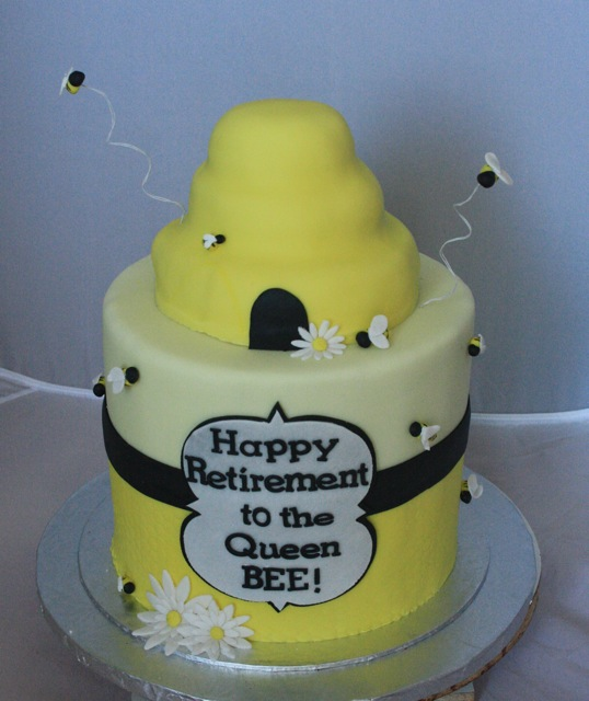 bee themed retirement