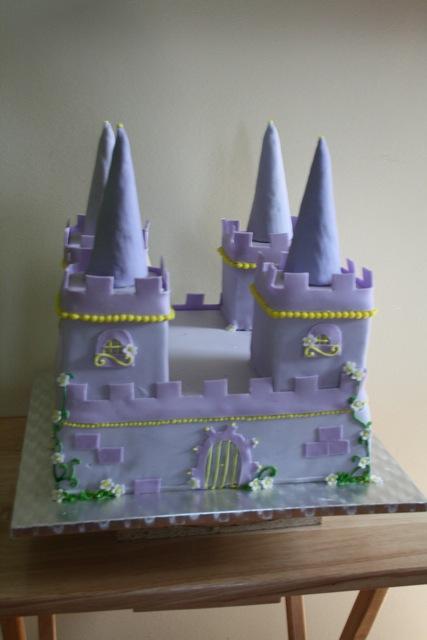 Castle Bday Cake